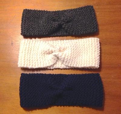 tuto headband tricot