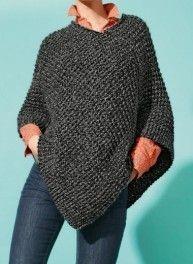 tuto tricot poncho