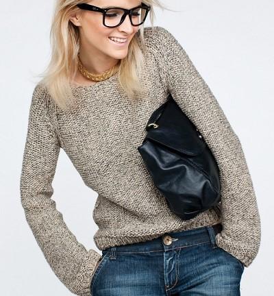 veste femme tricot